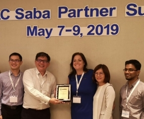 atQuest Solution Awarded Sales Excellence Award by Saba Software